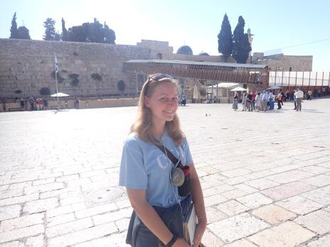 Western Wall in in Jerusalem, Israel