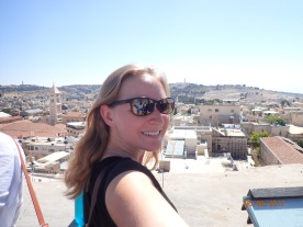 View from David's Museum in Jerusalem, Israel