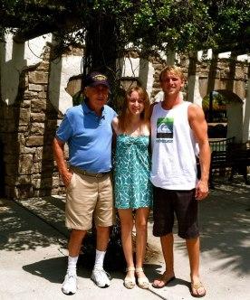 Pop pop Parker and I